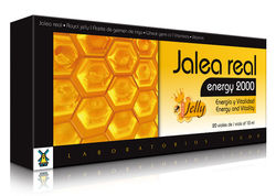 GELEIA REAL ENERGY 2000 (20 frascos de 10 ml)