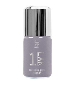 1-LAK 3 in 1 Gel Polish 10ml Romantic Grey  - Ref. 181056