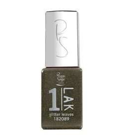 1-LAK 3 in 1 Gel Polish 5ml Glitter Leaves - Ref. 182089